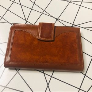 Vintage St. Thomas Cowhide leather Wallet coin